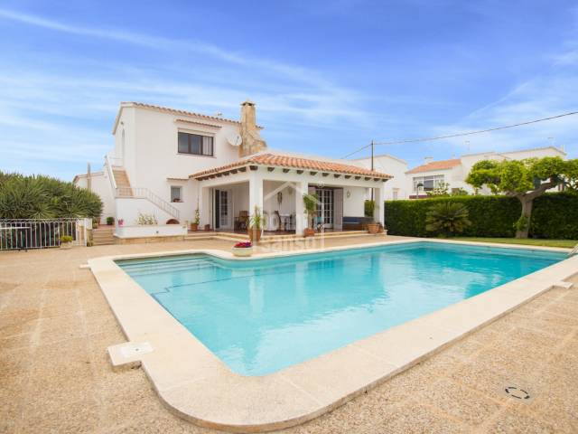 Superb family home in Son Vilar, Es Castell, Menorca