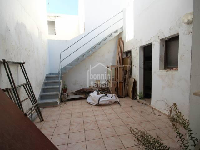 Solar edificable en Ciutadella, Menorca