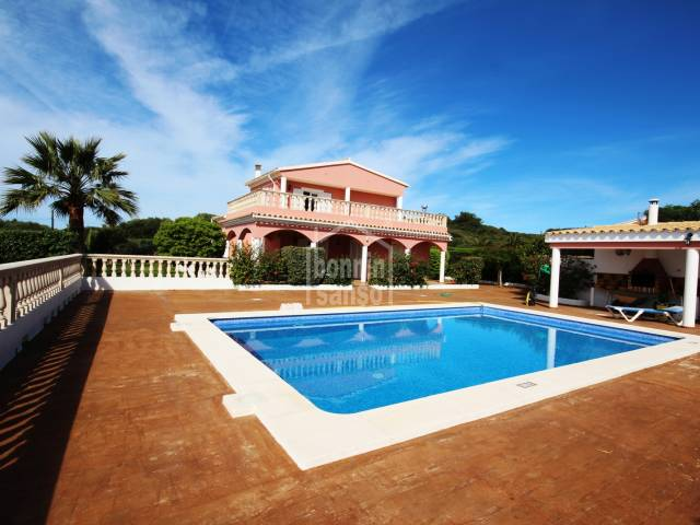 Luxury holiday home in Punta Prima, Menorca