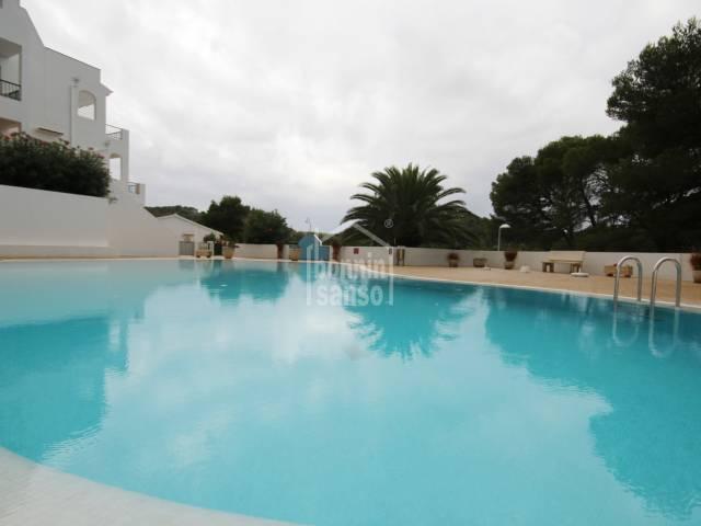 Maravillosa planta baja Apartamento con vistas al campo de golf en Son Parc Menorca