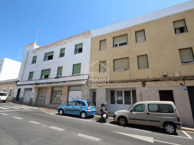Commercial premises close to the centre of Mahon, Menorca.
