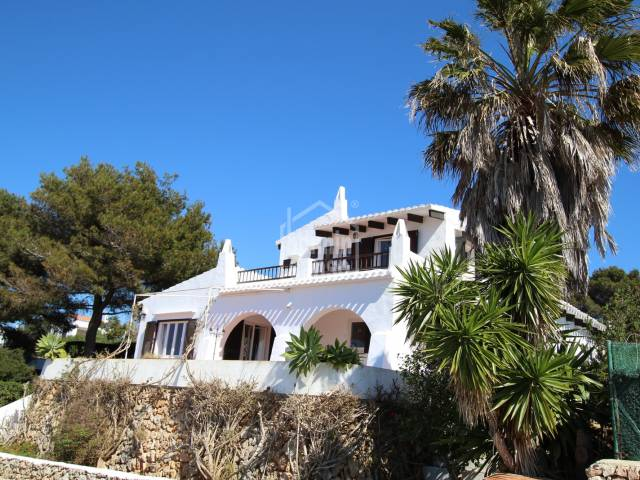Villa in elevated position with sea views in Binibeca, Menorca