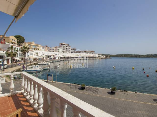 Apartment on the seafront in Cales Fonts, Es Castell, Menorca.