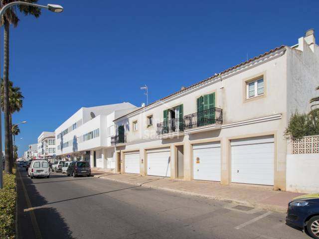 First floor, four bedroom duplex with private garage in San Luis, Menorca