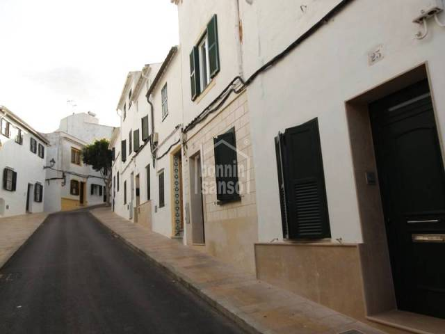 Ground floor property in a quaint street in the village of Alayor. Menorca