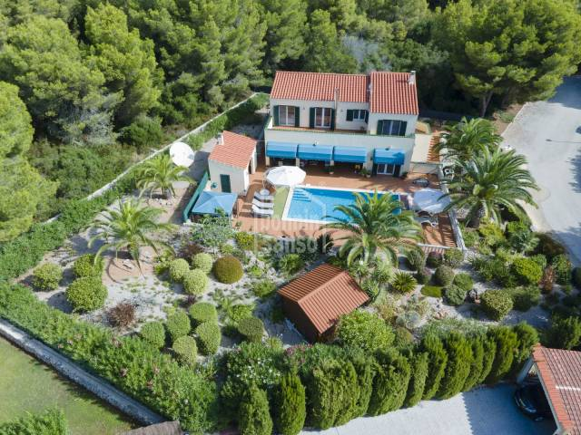 Luxurious villa in Son Parc, Menorca