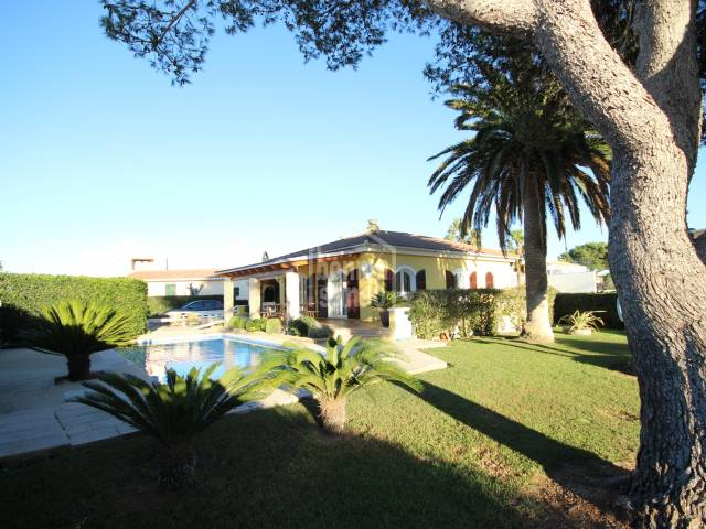 Interesting villa  near the beach of Sa Caleta Ciutadella Menorca