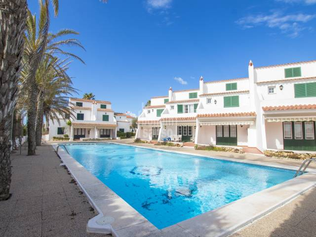 Terraced villa with swimming pool Ses Salines Fornells, Menorca