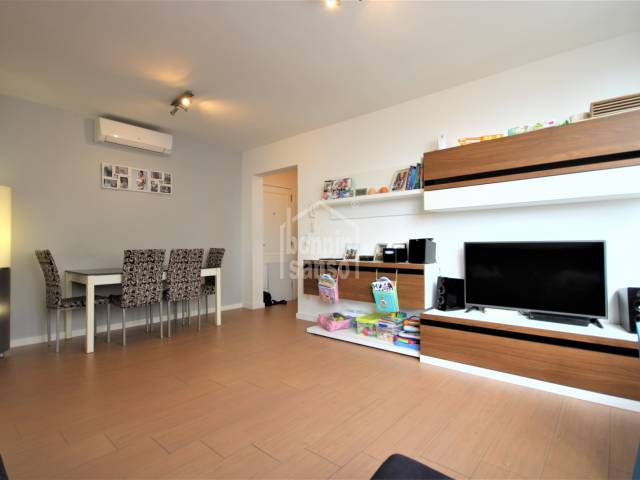 dining living room - Beautiful three bedroom apartment a few meters from the center, Ciutadella, Menorca