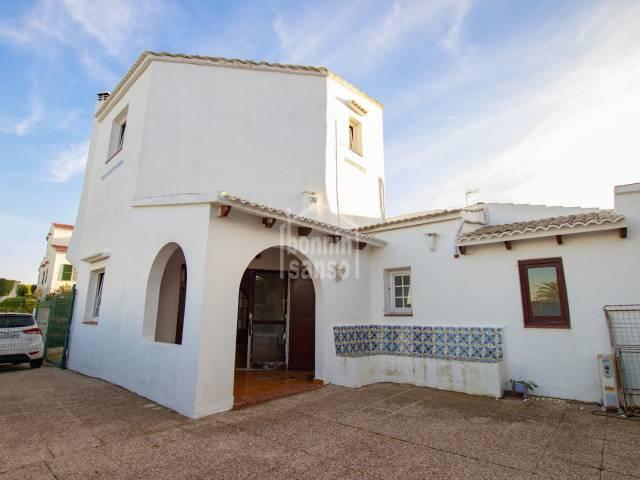 Chalet individual en Sol del Este, Menorca