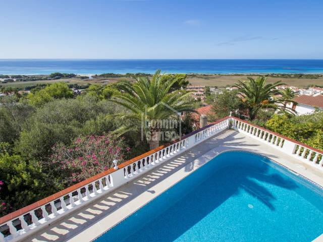 Well kept villa with stunning views, San Jaime, Menorca