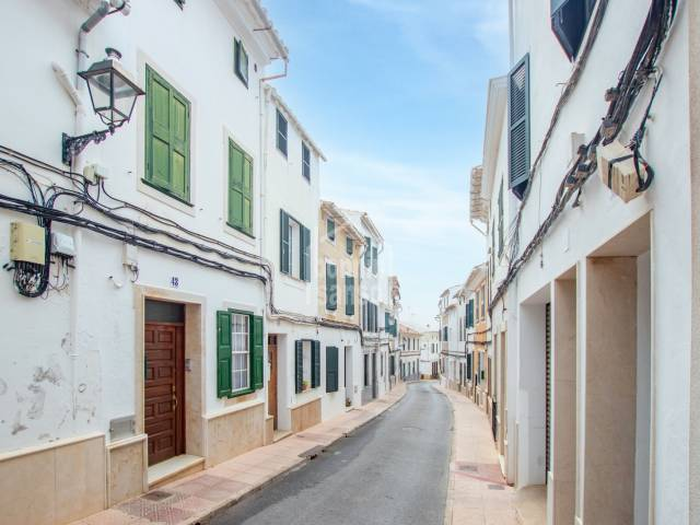 Fantastic town house with a large garden in Alayor, Menorca