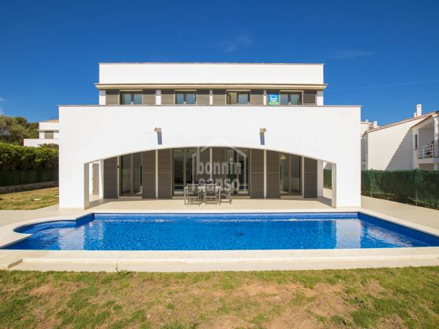 Magnificent, modern, ground floor villa in Addaya , Menorca