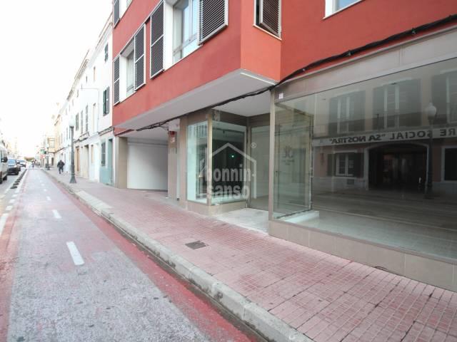 Extenso local céntrico en Ciutadella, Menorca