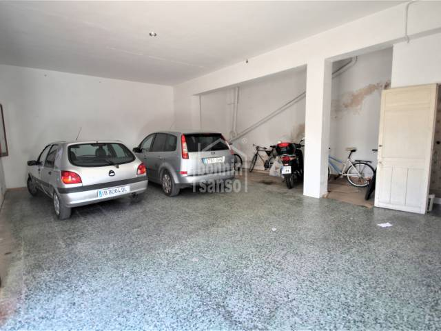 Huge garage on the ground floor in the north, Ciutadella, Menorca