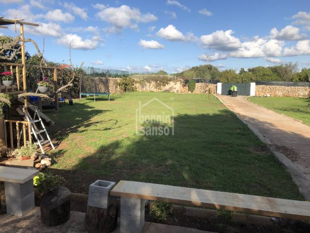 Rustic land with a small storage near Ciutadella, Menorca
