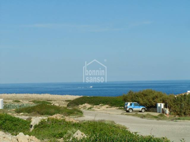 Plot with sea views in Punta Grossa