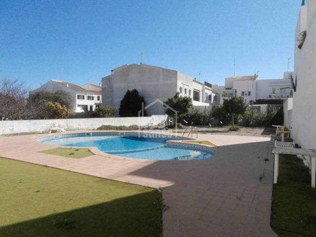 Spacious first floor with swimming pool in Sant Lluis