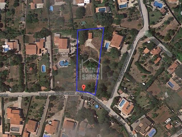 Building plot at La Argentina, Alayor Menorca