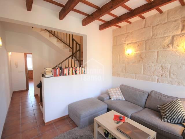 Salon - Maison restaurée dans la vieille ville de Ciutadella, Minorque