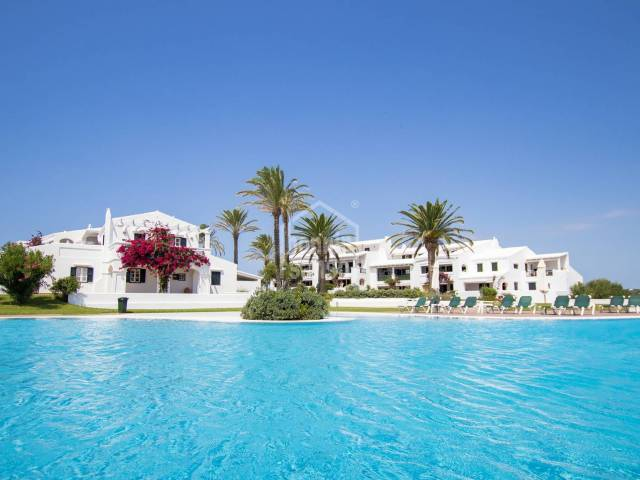 Beautiful ground floor in the prestigious gated comunity  of Ses Tanques, Es Canutells, Minorca