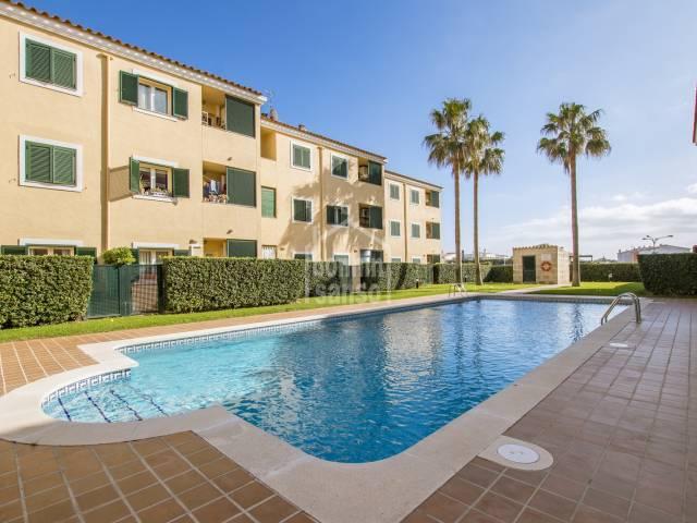 Duplex in this attractive complex in Santa Ana, Es Castell, Menorca