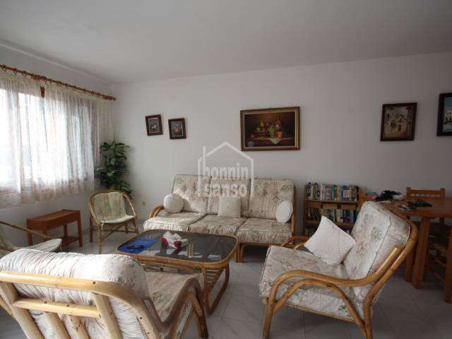Nice duplex apartment with garden in Cala Galdana, Ciutadella, Menorca