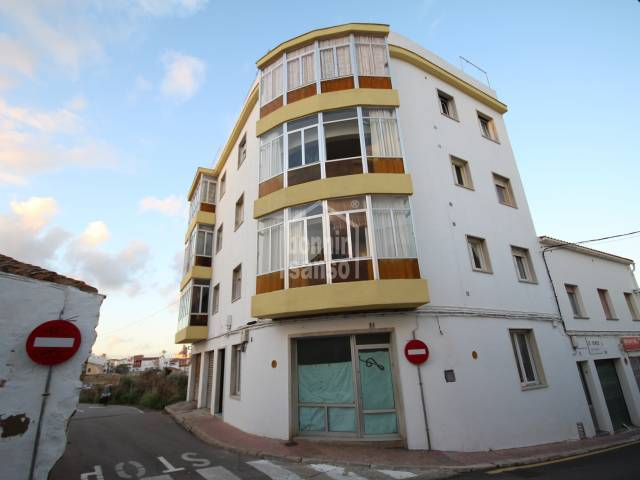 Second floor flat/apartment in Mahon, Menorca
