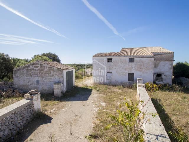 Finca rústica para reformar en San Clemente, Menorca