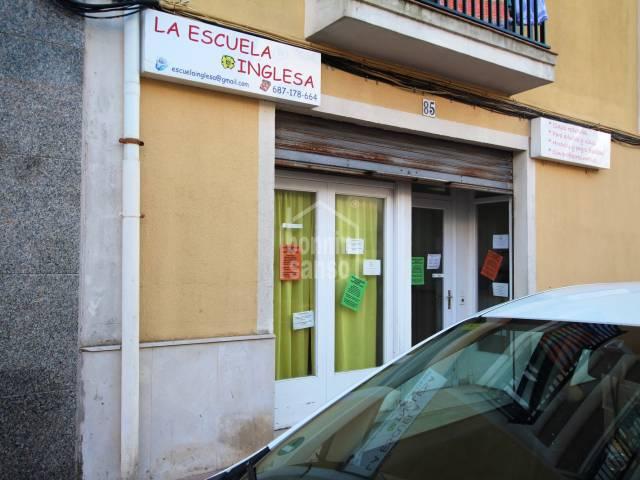 English school, Mahon, Menorca