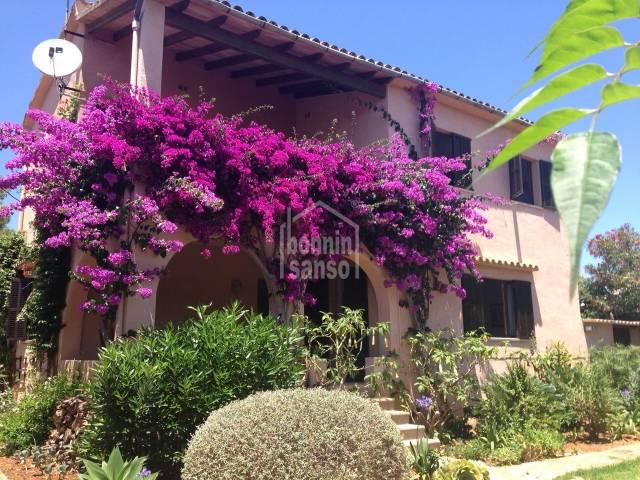 Impresionante casa adosada en Cala Millor