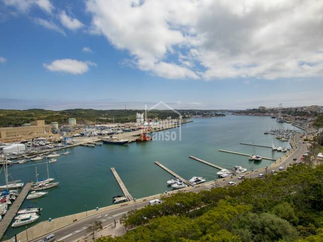Special house in privileged position in Mahon harbour, Menorca