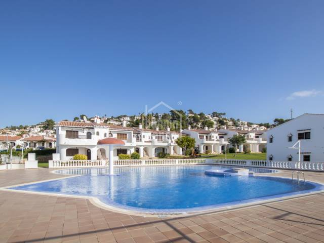 Three bedroom apartment in Son Bou, Menorca.