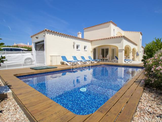 Perfect home situated in Trebaluger, Menorca.