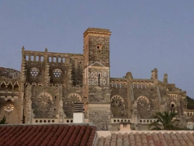 2. Piso en céntro del pueblo con vistas mar, Son Servera, Mallorca