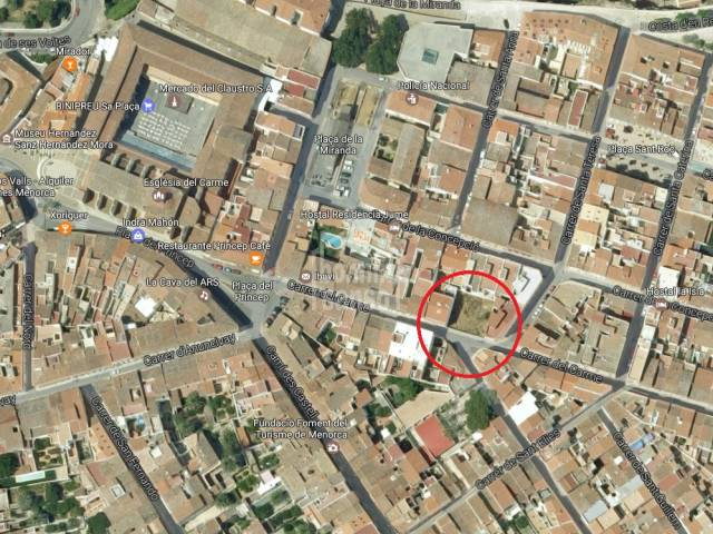 Buildable plot of land in the centre of Mahon