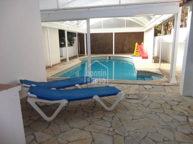 Large villa two steps from the beach of Cala Galdana Menorca