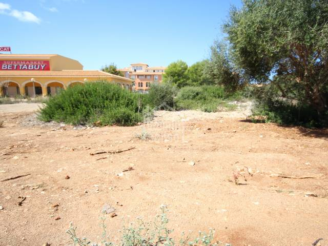 Building plot in very good area of Son Xoriguer Menorca