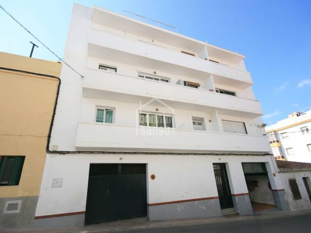 Second floor flat (no lift) in residential area of Mahon, Menorca