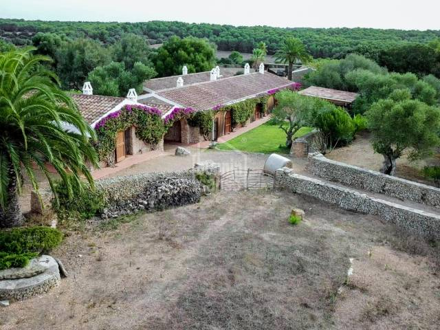 Unique rural estate set in some 1.200.000m² of land in Alayor, Menorca