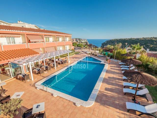 Charming hotel with 26 bedrooms in Calan Porter, Menorca