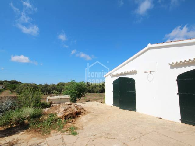 Rustic land with its own well and cistern, electricity, the urbanization of Argentina, Menorca.