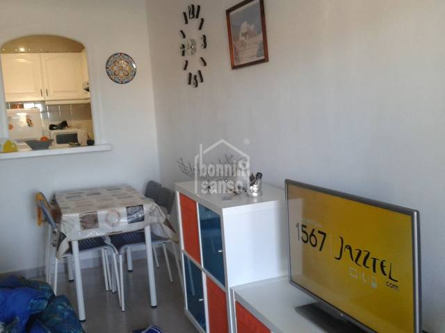 An interesting apartment on the ground floor in Addaya , Menorca