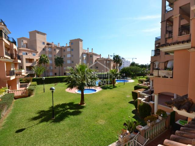 1st floor flat with parking and pool, Sa coma, Mallorca