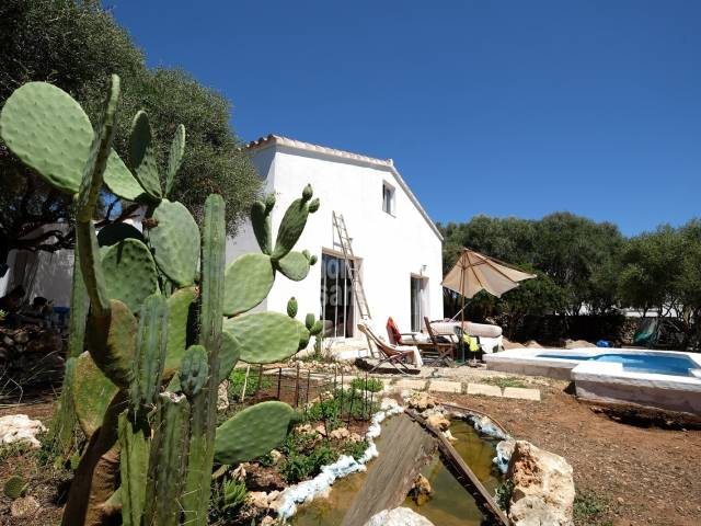 South facing Villa in the rural residential area  of Trebaluger Menorca