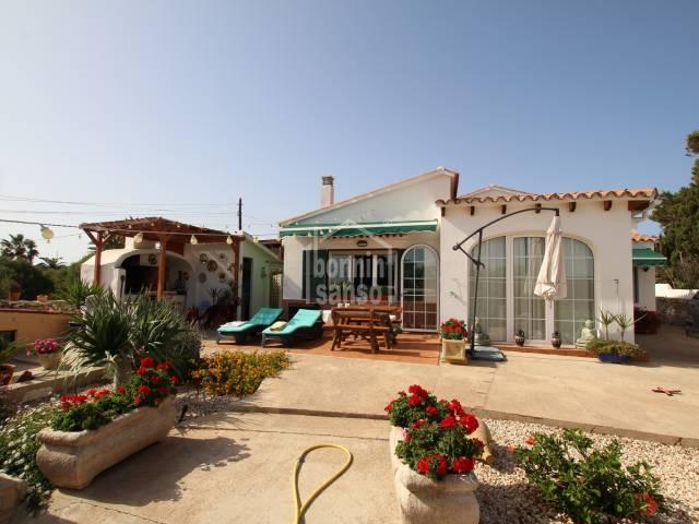 Pretty countryside house in Alcaufar, Menorca