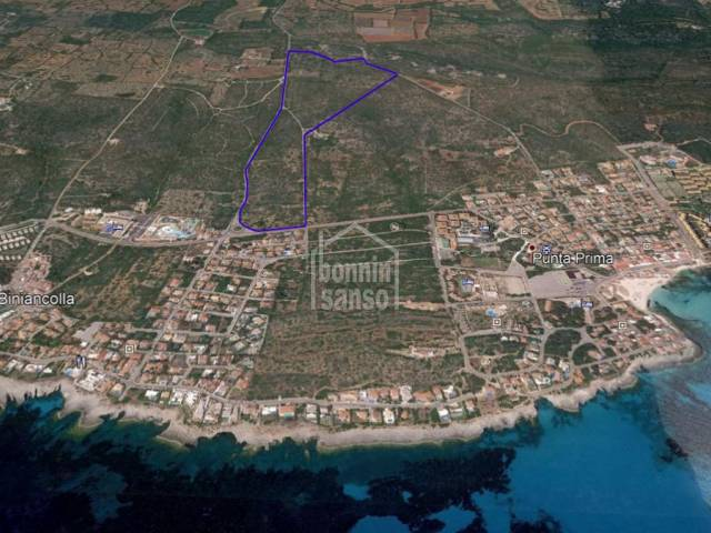 Suelo rústico en la costa sur de Menorca