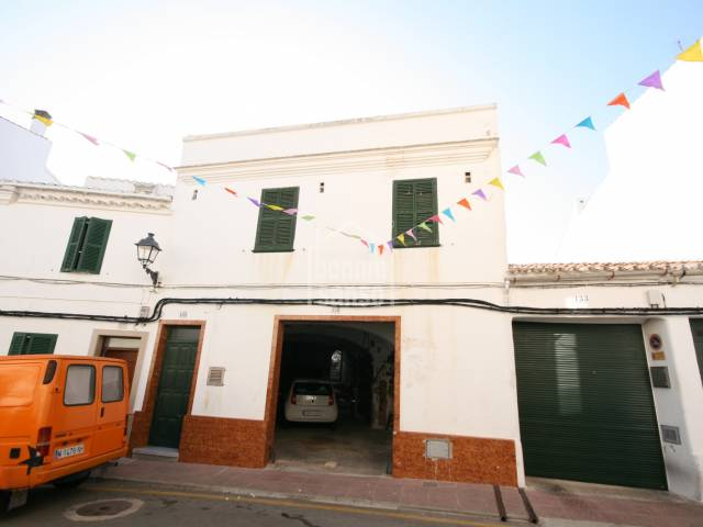 Charming traditional town house in Alaior, Menorca