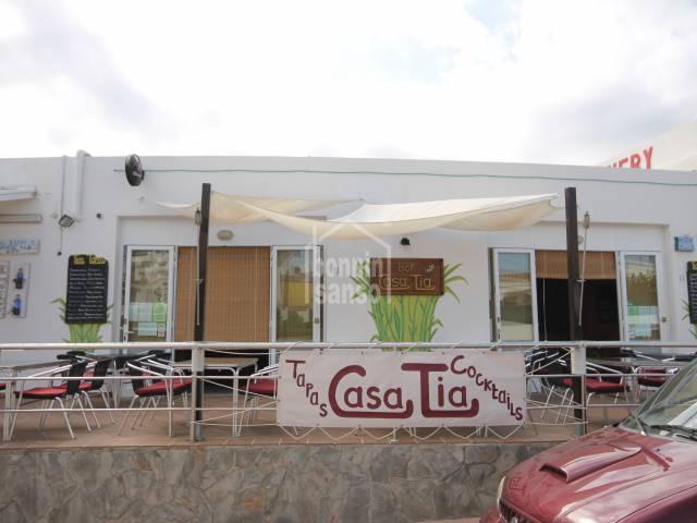 Bar/restaurante/Local/Negocio en Calan Porter