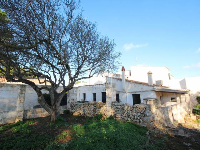 Interesting project for development in Torret, Sant Lluís, Menorca.